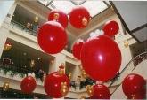 Декорация с големи балони